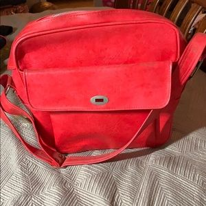 Vintage Red Carry on